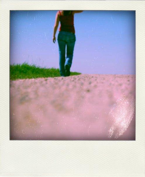 Walking in North Dakota