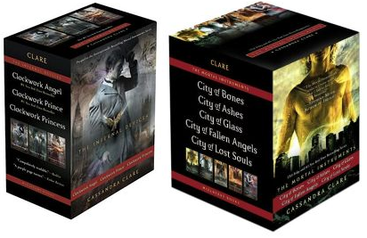 Cassandra Clare the Mortal Instruments the Infernal Devices