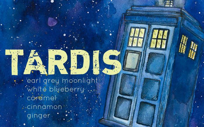 Tardis Tea by Aun-Juli Riddle and Adagio Teas