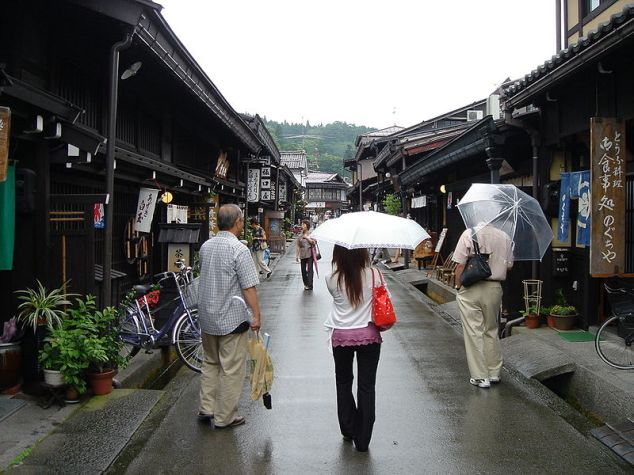 Old Town in Takayama