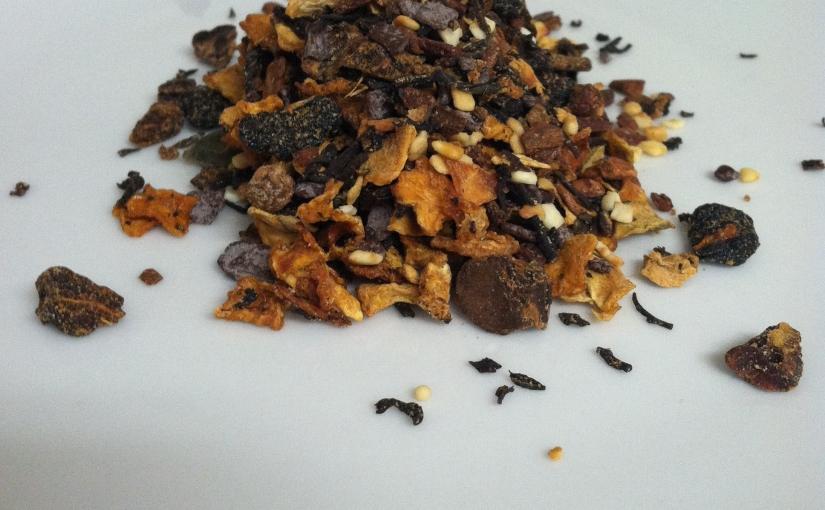Teaview: Pumpkin Spice Brulee Oolong (not quite#PSL)