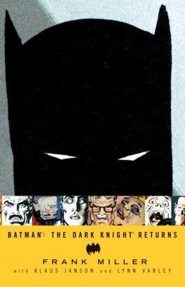 Batman: the Dark Knight Returns graphic novel cover