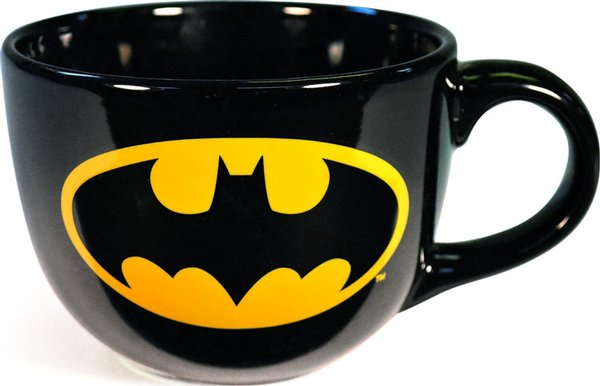 Batman Logo Soup Mug