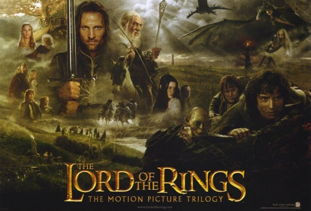The Lord of the Rings movie trilogy