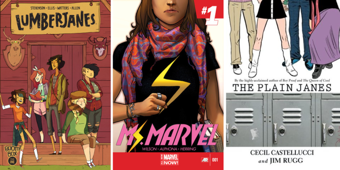 Graphic Novel Covers