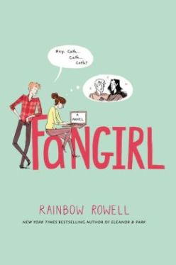 Fangirl by Rainbow Rowell book cover