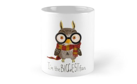 Harry Potter Owl Fan Mug