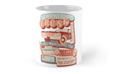 Supernatural Impalas Trunk mug
