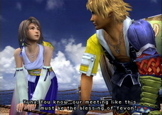 Tidus and Yuna from FFX