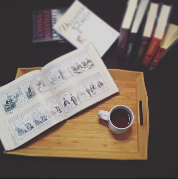 via the Books & Tea instagram