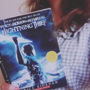 Percy Jackson the Lightning Thief by Rick Riordan