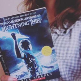 Percy Jackson the Lightning Thief by Rick Riordan