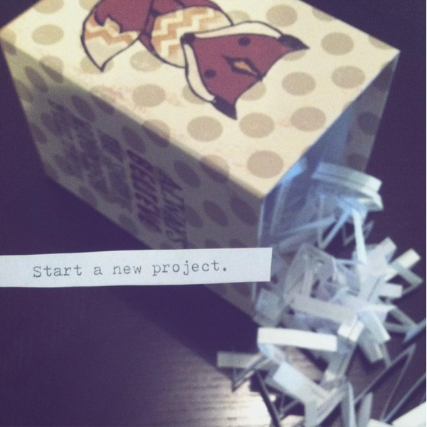 Star a new project