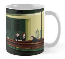 Xfiles mug