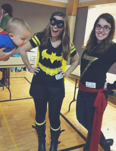 Ms Marvel and Bat Girl