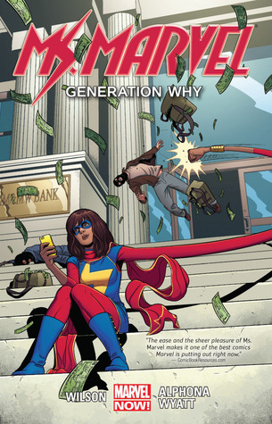 Ms Marvel Vol 2 Generation Why Book Cover