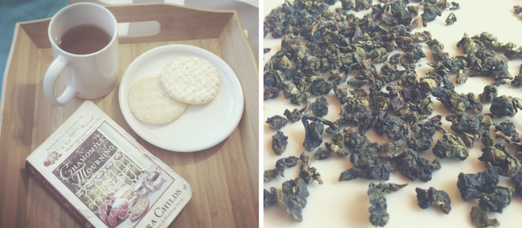 Charcoal-baked Anxi Tie Guan Yin Oolong Tea