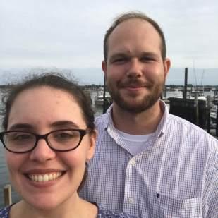 Jackie and Jon in Portland Maine