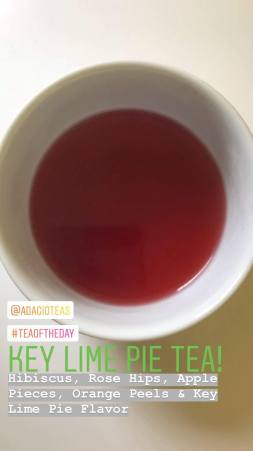 Adagio Key Lime Pie Tea
