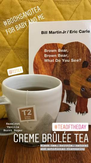 Creme Brulee Tea from T2