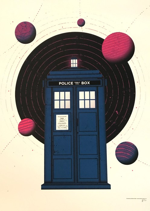 tardis by andrew heath